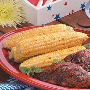 Savory Grilled Corn Recipe