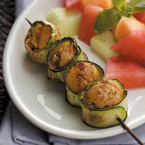 Zucchini-Wrapped Scallops Recipe