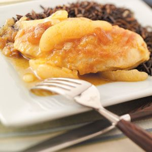 Pear Chutney Chicken Recipe