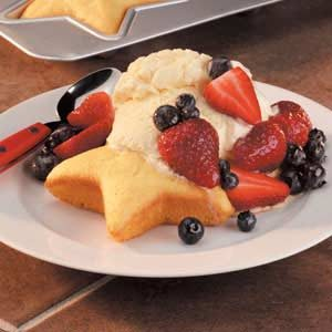 Star-Spangled Shortcake Recipe