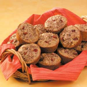 Cranberry Flax Muffins Recipe