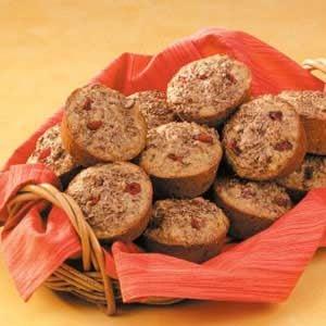 Cranberry Flax Muffins