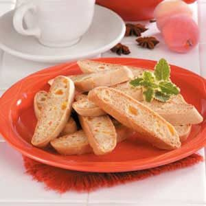 Honey Apricot Biscotti Recipe