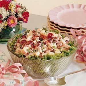 Peachy Chicken Salad Recipe