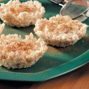 Rice Pudding Tartlets Recipe