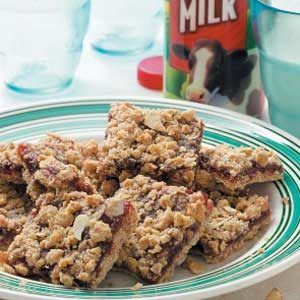 Strawberry Granola Squares