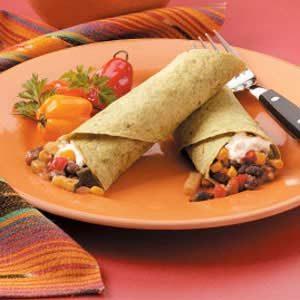 Southwestern Veggie Wraps Recipe