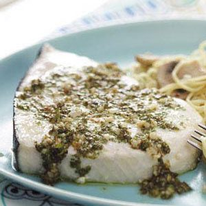 Lemon Parsley Swordfish Recipe