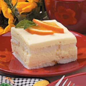 Orange Refrigerator Cake Recipe