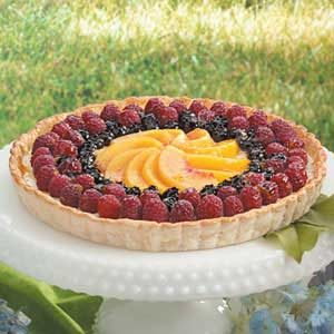Festive Fruit Tart Recipe