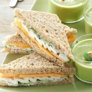17 Tea Sandwich Recipes