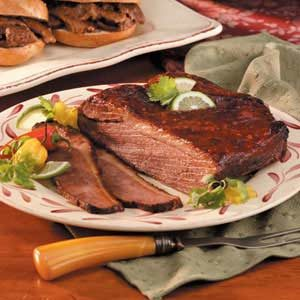 Barbecue-Style Beef Brisket Recipe