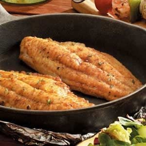 Skillet-Grilled Catfish Recipe