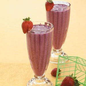 Orange Blueberry Shakes Recipe