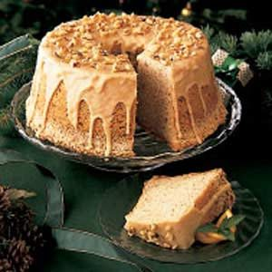 Spiced Chiffon Cake Recipe