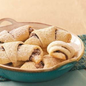 Hazelnut Crescent Rolls Recipe