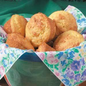 Parmesan Corn Muffins Recipe | Taste of Home