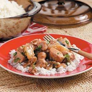 Pear Walnut Chicken Recipe
