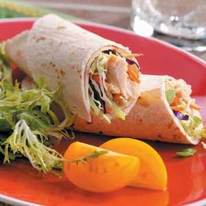 Chicken Satay Wraps Recipe