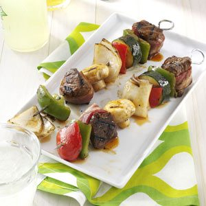 Grilled Beef Kabobs Recipe