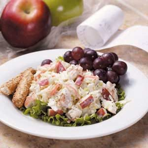 Apple Chicken Slaw Recipe