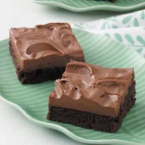 Mocha Mousse Brownies