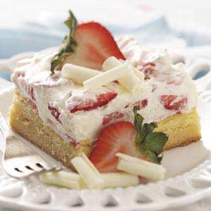 White Chocolate Berry Dessert Recipe