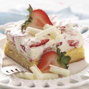 White Chocolate Berry Dessert Recipe