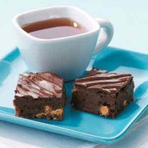 Dark Chocolate Butterscotch Brownies