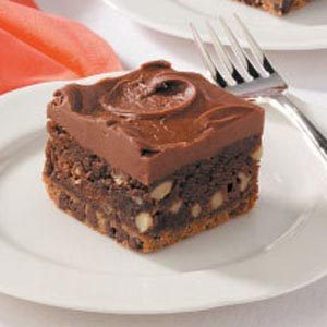 Frosted Cookie Brownies Recipe