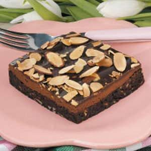 Almond Truffle Brownies Recipe