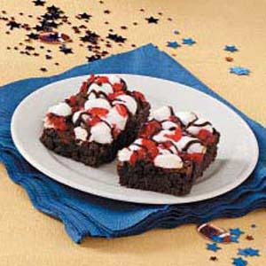 Chocolate-Covered Cherry Brownies Recipe