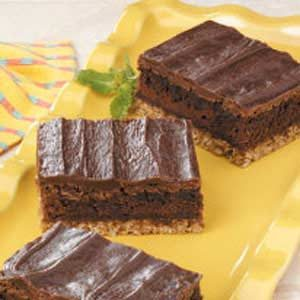 Fudgy Oat Brownies