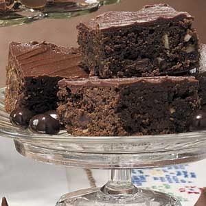 Hazelnut Mocha Brownies Recipe