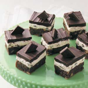 Irish Mint Brownies Recipe