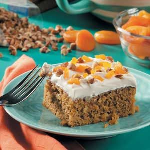 Apricot Pumpkin Cake Recipe