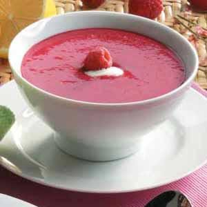 Cold Raspberry Soup Recipe