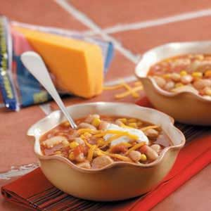 Slow-Cooked Chicken Chili Recipe