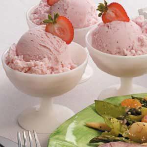 Frozen Strawberry Yogurt Recipe