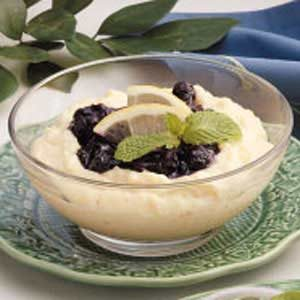 Blueberry Cornmeal Pudding Recipe