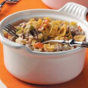 Corn Chip Beef Bake Recipe