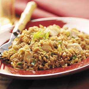 Quick Chicken Fried Rice for Two Recipe