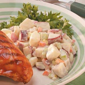 Creamy Potato Salad for Two Recipe