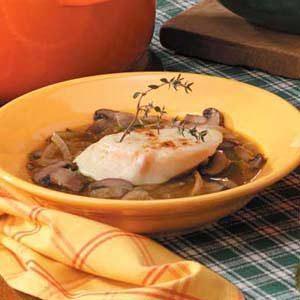 Portobello Mushroom Onion Soup Recipe