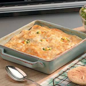 Chicken and Biscuit Bake Recipe