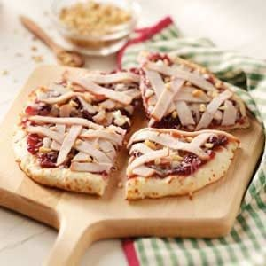 Smoked Turkey Pizza Recipe
