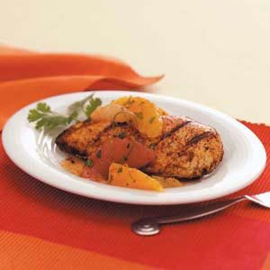 Chicken with Citrus Salsa Recipe
