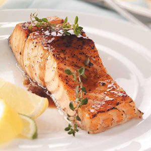 Easy glazed salmon recipes