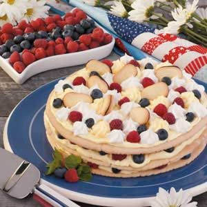 Berry Cookie Torte Recipe
