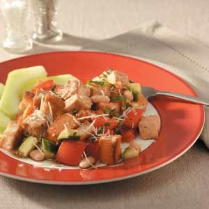 Chicken Bread Salad Recipe